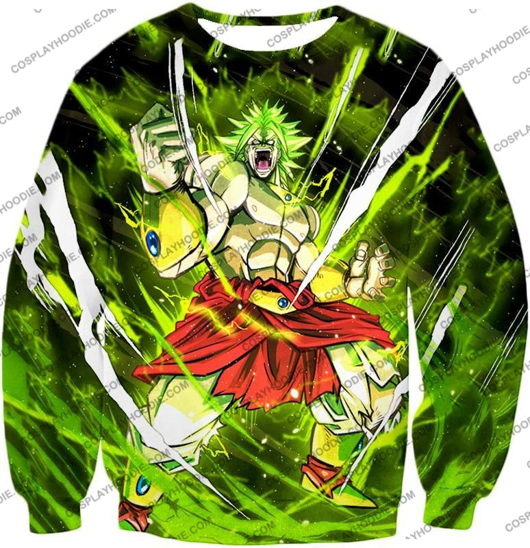 Dragon Ball Super Broly Legendary Saiyan Ultimate Action Graphic Anime T-Shirt Dbs164 Sweatshirt /