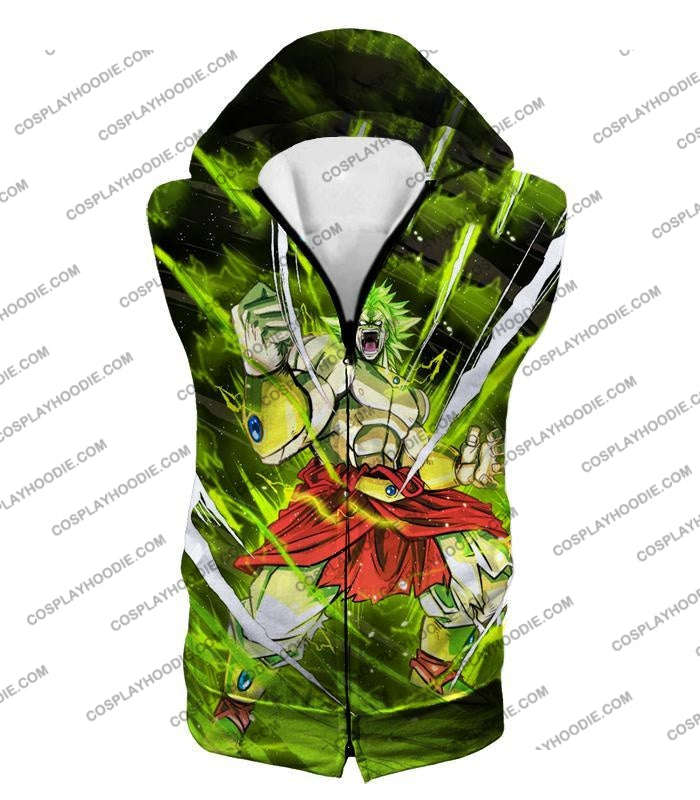 Dragon Ball Super Broly Legendary Saiyan Ultimate Action Graphic Anime T-Shirt Dbs164 Hooded Tank