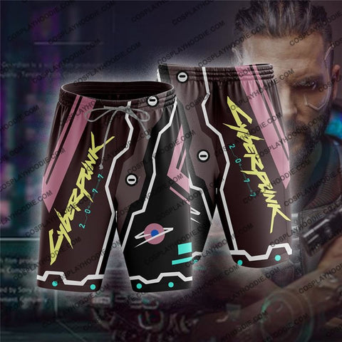 Cyberpunk 2077 V1 Board Shorts