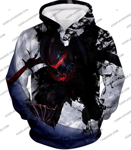 Image of Fate Stay Night Berserker Lancelot Of The Lake Action T-Shirt Fsn017 Hoodie / Us Xxs (Asian Xs)