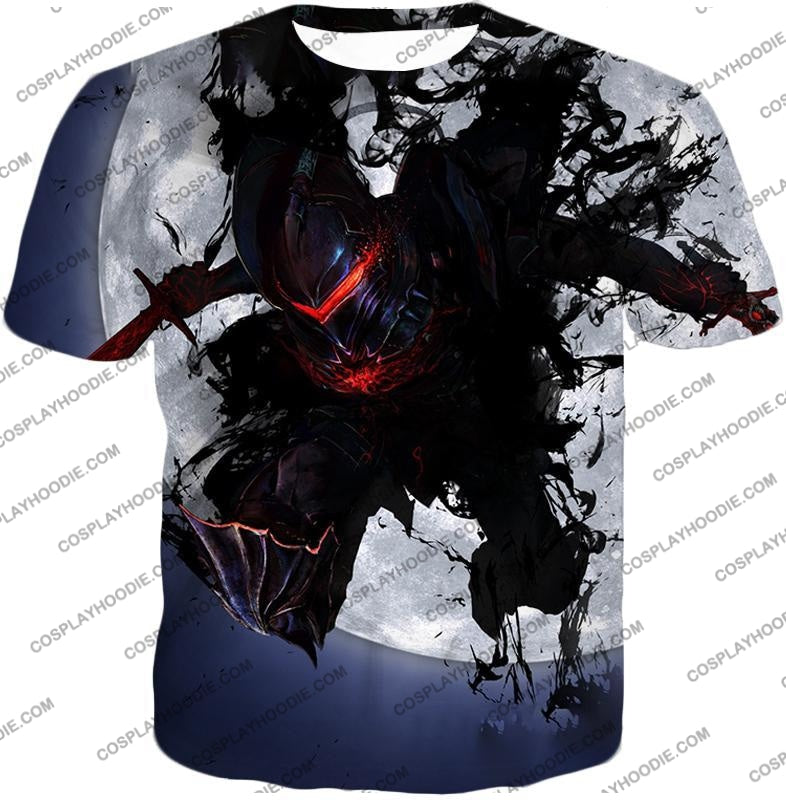 Fate Stay Night Berserker Lancelot Of The Lake Action T-Shirt Fsn017 / Us Xxs (Asian Xs)