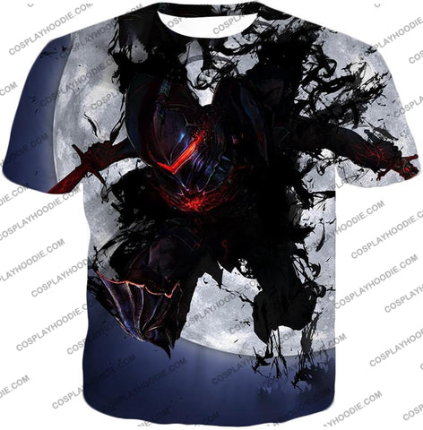 Image of Fate Stay Night Berserker Lancelot Of The Lake Action T-Shirt Fsn017 / Us Xxs (Asian Xs)