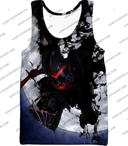 Image of Fate Stay Night Berserker Lancelot Of The Lake Action T-Shirt Fsn017 Tank Top / Us Xxs (Asian Xs)
