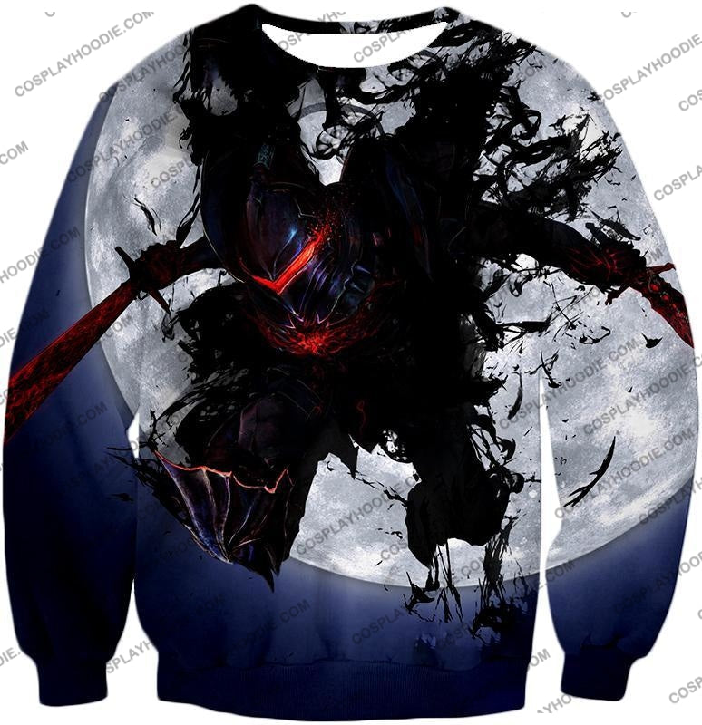Fate Stay Night Berserker Lancelot Of The Lake Action T-Shirt Fsn017 Sweatshirt / Us Xxs (Asian Xs)