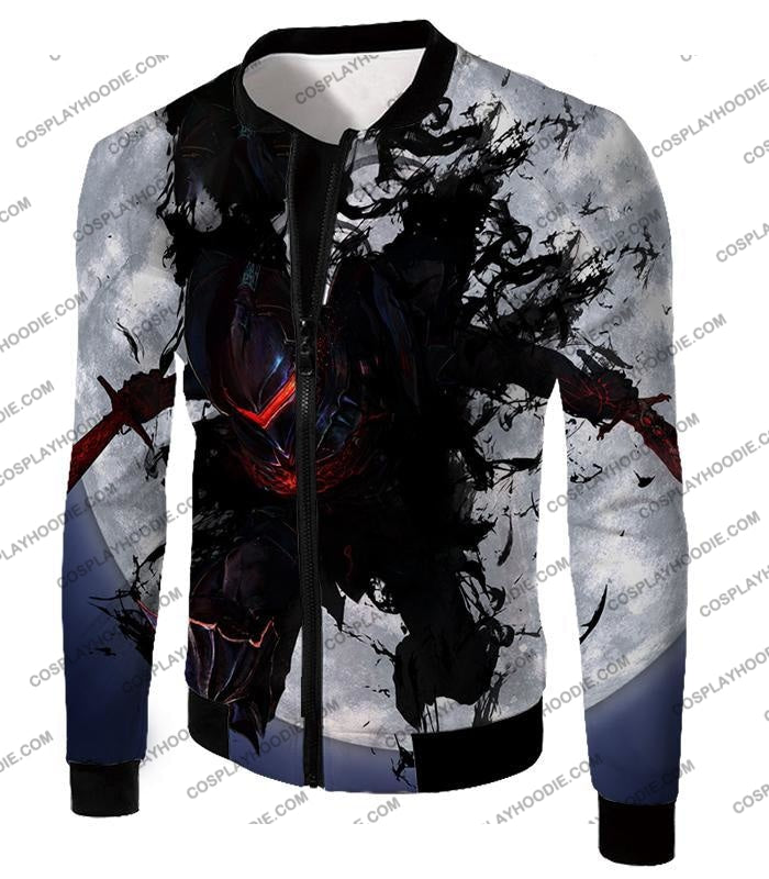 Fate Stay Night Berserker Lancelot Of The Lake Action T-Shirt Fsn017 Jacket / Us Xxs (Asian Xs)