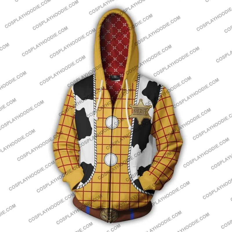 Woody Toy Story Hoodie Jacket Cosplay