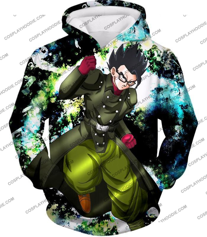 Dragon Ball Super Favourite Hero Gohan Cool Action Anime Graphic T-Shirt Dbs182 Hoodie / Us Xxs