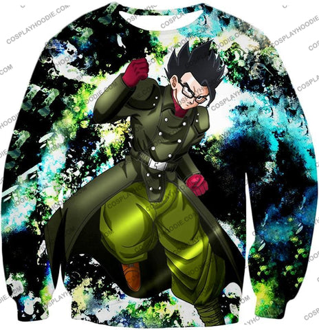 Image of Dragon Ball Super Favourite Hero Gohan Cool Action Anime Graphic T-Shirt Dbs182 Sweatshirt / Us Xxs