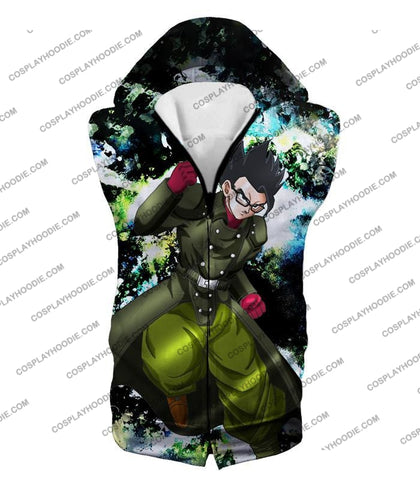Image of Dragon Ball Super Favourite Hero Gohan Cool Action Anime Graphic T-Shirt Dbs182 Hooded Tank Top / Us
