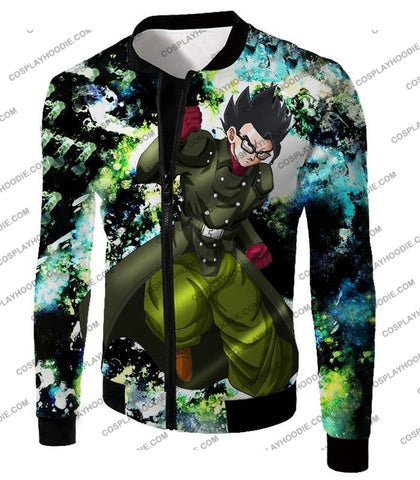 Image of Dragon Ball Super Favourite Hero Gohan Cool Action Anime Graphic T-Shirt Dbs182 Jacket / Us Xxs
