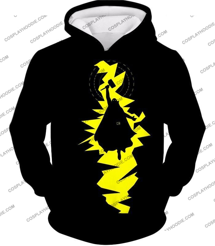 Amazing Thor Thunder Action Promo Black T-Shirt Thor019 Hoodie / Us Xxs (Asian Xs)