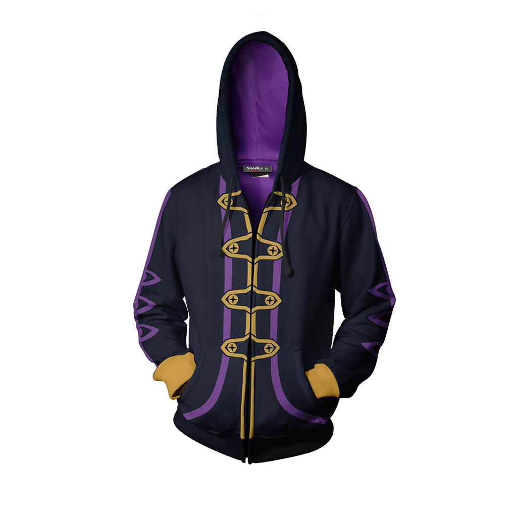 Fire Emblem Robin Hoodie Cosplay Jacket Zip Up