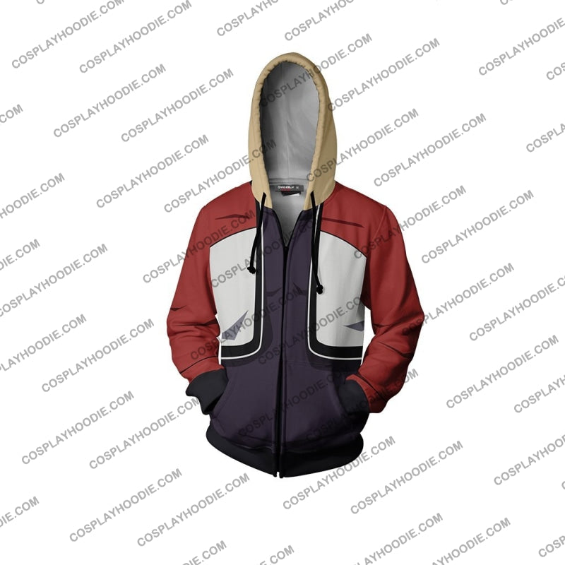 Garou Mark Of The Wolves Rock Howard Hoodie Cosplay Jacket Zip Up