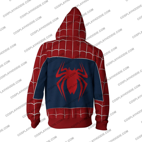 Spider-Man Ps4 (Tobey Maguire - Sam Raimi 2002 Movie) Hoodie Cosplay Jacket Zip Up