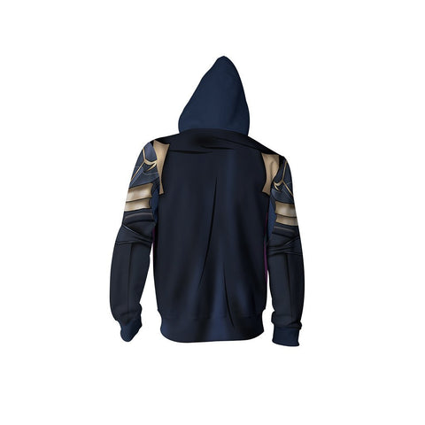 Image of Fire Emblem Brave Lucina Hoodie Cosplay Jacket Zip Up
