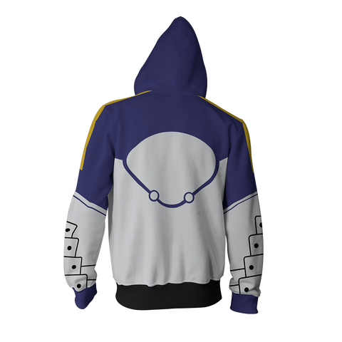 Image of Fate Stay Night Saber Hoodie Cosplay Jacket Zip Up