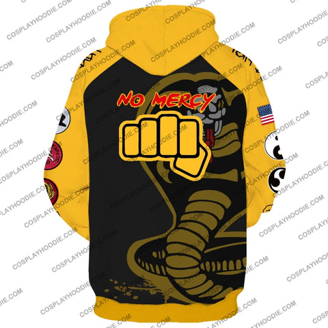 Cobra Kai No Mercy Cosplay Hoodie Jacket