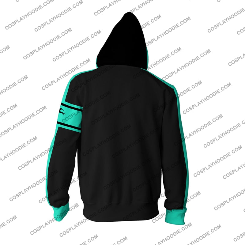 Hatsune Miku Cosplay Love Is War Zip Up Hoodie Jacket
