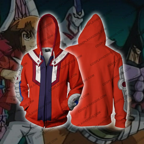 Image of Jaden Yu-Gi-Oh Zip Up Hoodie Cosplay Jacket