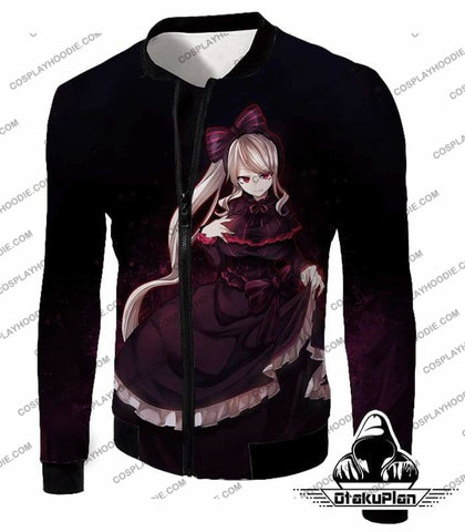 Image of Overlord Very Cute Shalltear Bloodfallen The Bloody Valkyrie Promo Black T-Shirt OL027-OtakuPlan