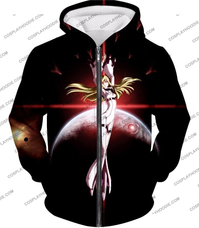 The Immortal Witch Of Britannia C.c. Cool Anime T-Shirt Cg002 Zip Up Hoodie / Us Xxs (Asian Xs)