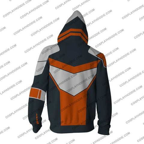 Borderlands Hoodie - Maliwan Jacket Cosplay