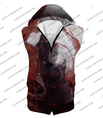 Image of Overlord True Vampire Cute Shalltear Bloodfallen Cool Anime Art T-Shirt Ol025 Hooded Tank Top / Us