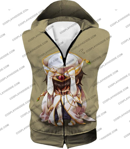 Image of Code Geass Child Hero Prince Lelouch Vi Britannia Cool Grey Poster T-Shirt Cg027 Hooded Tank Top /