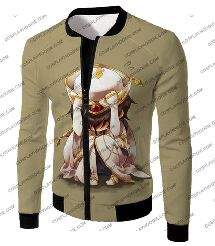 Image of Code Geass Child Hero Prince Lelouch Vi Britannia Cool Grey Poster T-Shirt Cg027 Jacket / Us Xxs