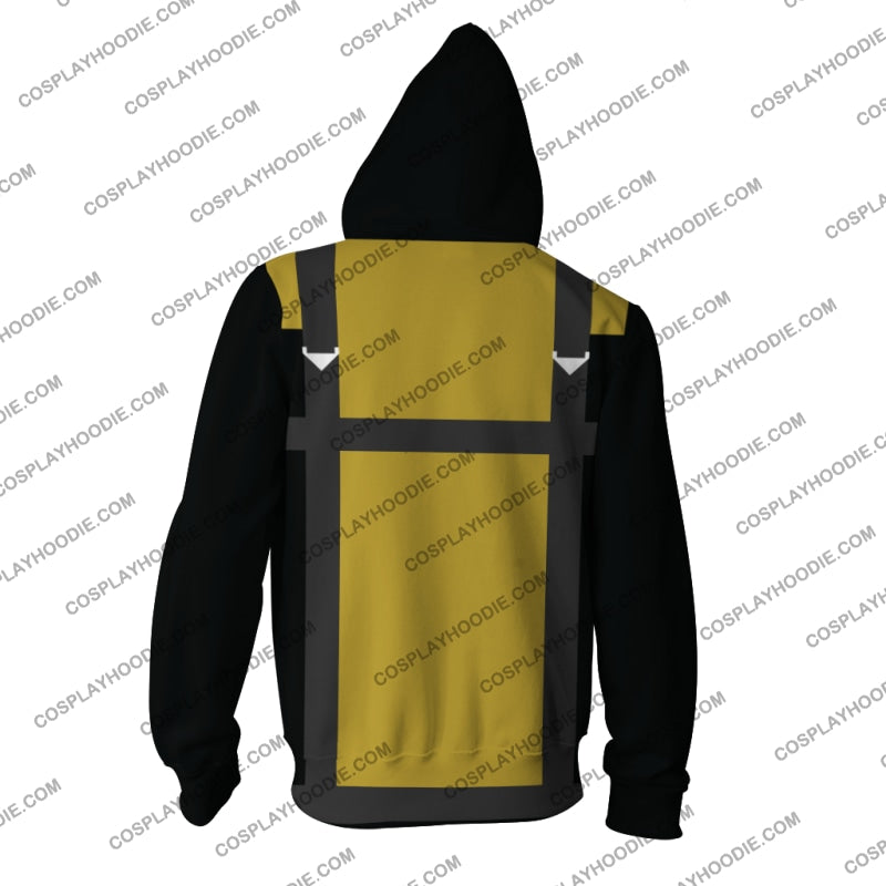 Marvel X-Men Iii Hoodie Cosplay Jacket Zip Up