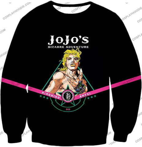 Image of Dio Brando The Evil Incarnation Black Anime T-Shirt Jo003 Sweatshirt / Us Xxs (Asian Xs)