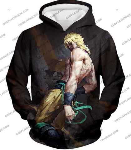 Image of Jojos Bizarre Adventure Evil Incarnation Dio Brando Graphic T-Shirt Jo032 Hoodie / Us Xxs (Asian Xs)