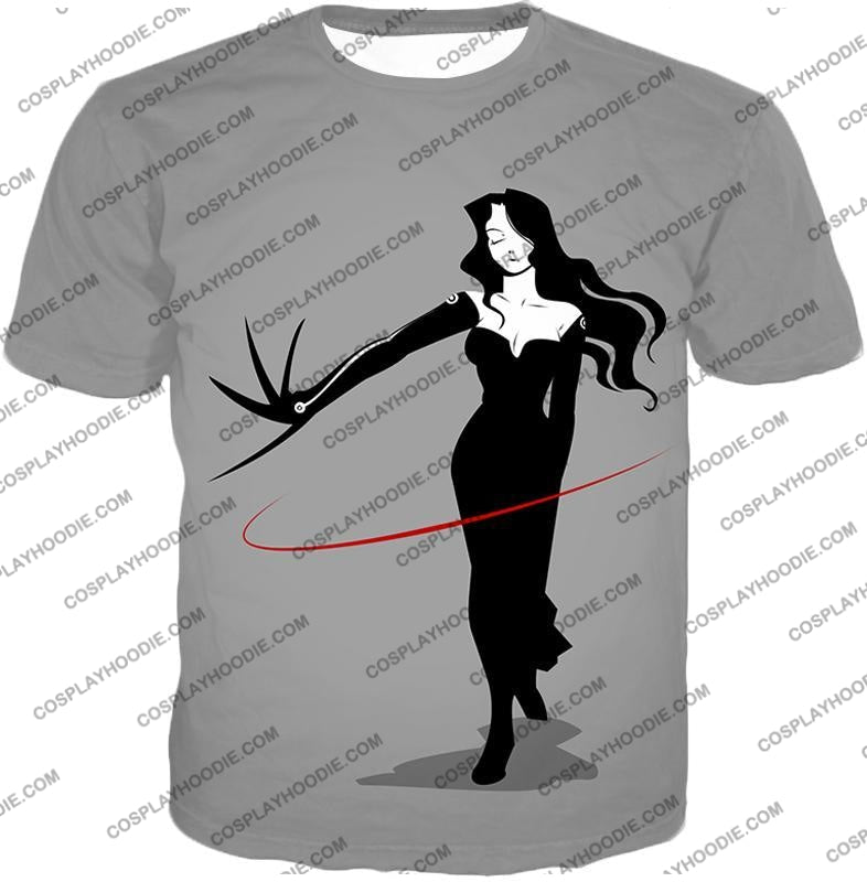 Fullmetal Alchemist Deadly Homunculi Lust Cool Anime Grey T-Shirt Fa032 / Us Xxs (Asian Xs)