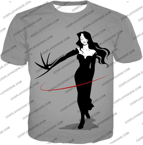Image of Fullmetal Alchemist Deadly Homunculi Lust Cool Anime Grey T-Shirt Fa032 / Us Xxs (Asian Xs)