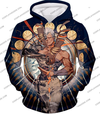 Image of Jojos Stardust Crusaders C Jean Pierre Action Stand Graphic T-Shirt Jo033 Hoodie / Us Xxs (Asian Xs)