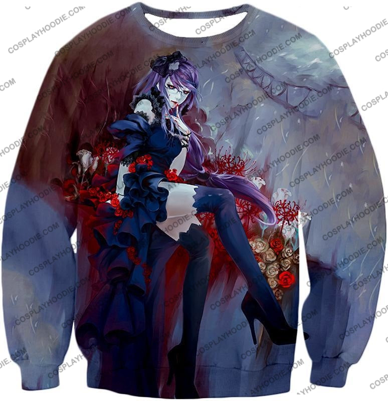 Tokyo Ghoul Beautiful And Dangerous Rize Kamishiro Amazing Anime Art Printed T-Shirt Tg083