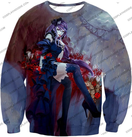 Image of Tokyo Ghoul Beautiful And Dangerous Rize Kamishiro Amazing Anime Art Printed T-Shirt Tg083