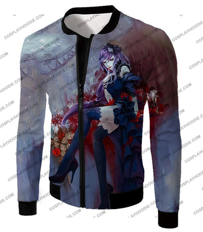 Image of Tokyo Ghoul Beautiful And Dangerous Rize Kamishiro Amazing Anime Art Printed T-Shirt Tg083 Jacket /