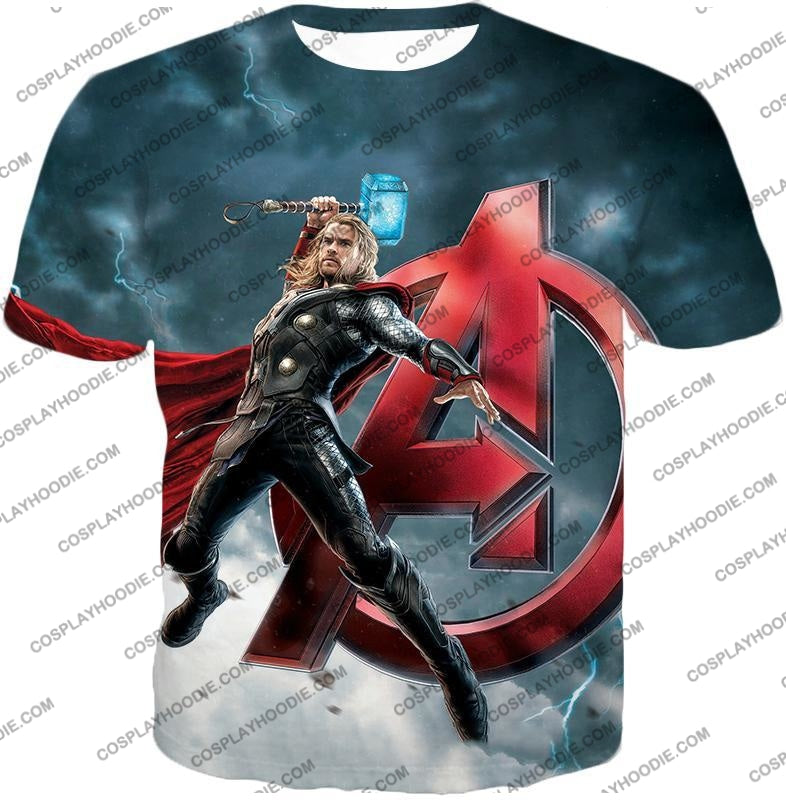 Action Hero Thor Avengers Promo Cool Graphic T-Shirt Thor035 / Us Xxs (Asian Xs)