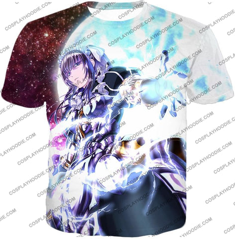 Image of Overlord Powerful Adventurer Nabe Awesome Anime Action T-Shirt Ol037 / Us Xxs (Asian Xs)