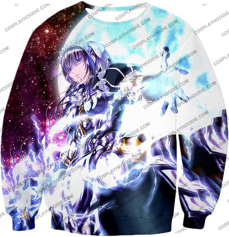 Image of Overlord Powerful Adventurer Nabe Awesome Anime Action T-Shirt Ol037 Sweatshirt / Us Xxs (Asian Xs)