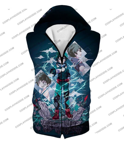Image of My Hero Academia Chasing The Dreams Of Izuki Midoriya Awesome Anime T-Shirt Mha087 Hooded Tank Top /