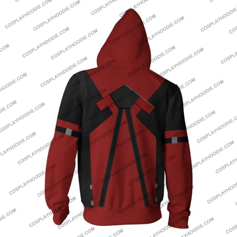 Deadpool Hoodie Jacket Cosplay