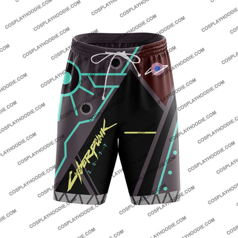 Cyberpunk 2077 V2 Board Shorts
