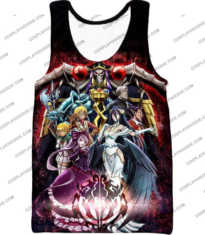 Image of Overlord Cool All In One Promo Anime Graphic T-Shirt Ol040 Tank Top / Us Xxs (Asian Xs)