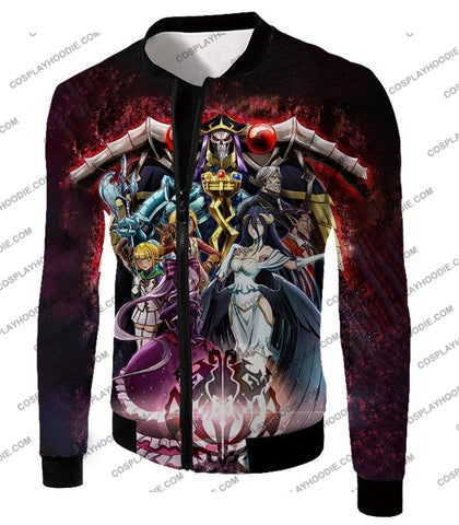 Image of Overlord Cool All In One Promo Anime Graphic T-Shirt Ol040 Jacket / Us Xxs (Asian Xs)