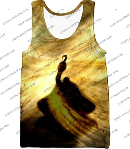 Image of One Piece Notorious Pirate Warlord Crocodile Awesome Action T-Shirt Op041 Tank Top / Us Xxs (Asian
