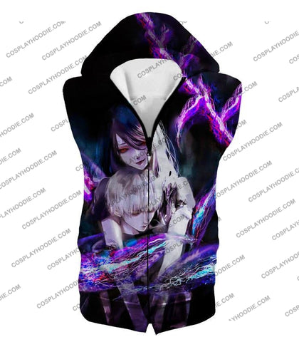 Image of Tokyo Ghoul Kaneki X Rize Cool Kink Connection Amazing Fan Art Promo T-Shirt Tg093 Hooded Tank Top /