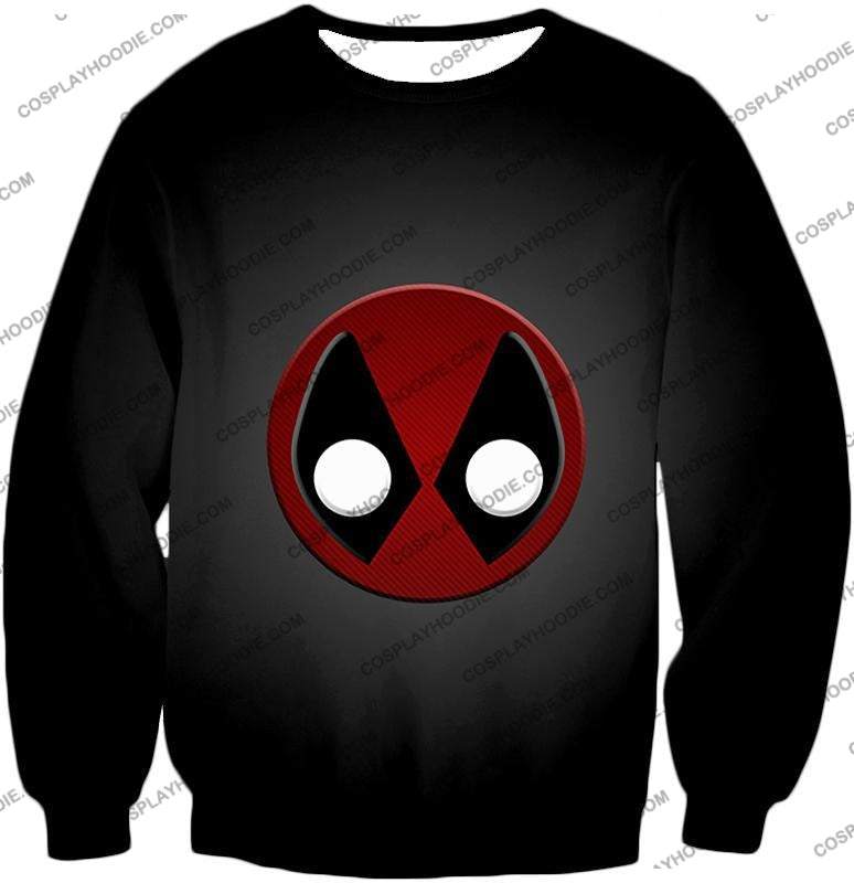 Favourite Deadpool Logo Cool Black T-Shirt Dp044 Sweatshirt / Us Xxs (Asian Xs)