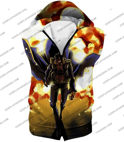 Image of Jojos Stardust Crusaders C Jotaro Kujo Anime Action T-Shirt Jo046 Hooded Tank Top / Us Xxs (Asian